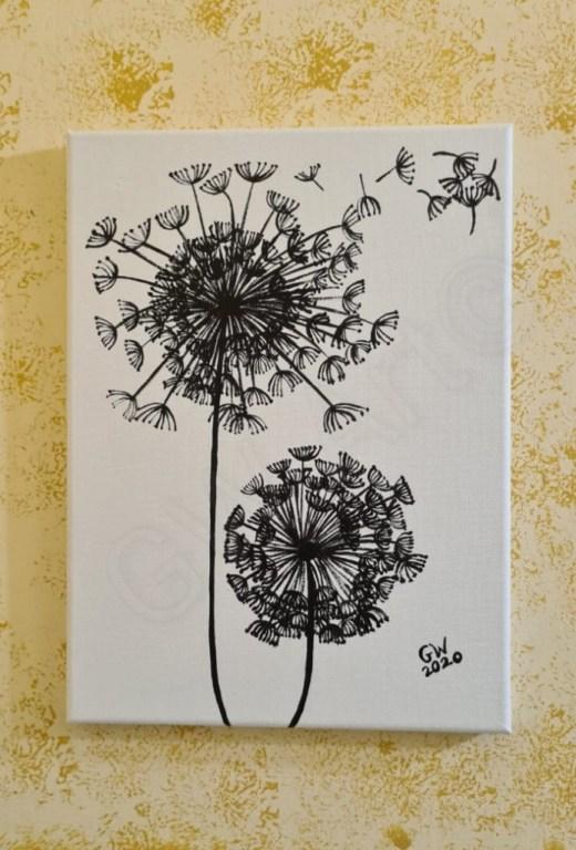 "Acrylic on (9×12)"" Canvas PRICE: $8,500JMD"