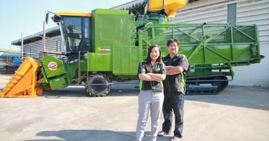 """Samart Kasetyon"" Promotes SM-200 & SM-200 Giant, World-Class Sugarcane Harvesters for Thai & Overseas Markets"