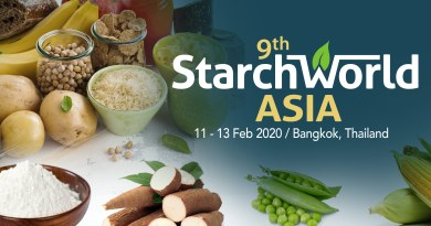 Waxy Tapioca Starch, Innovations, Challenges in Cassava value chain discussed at 9th Starch World Asia in Bangkok