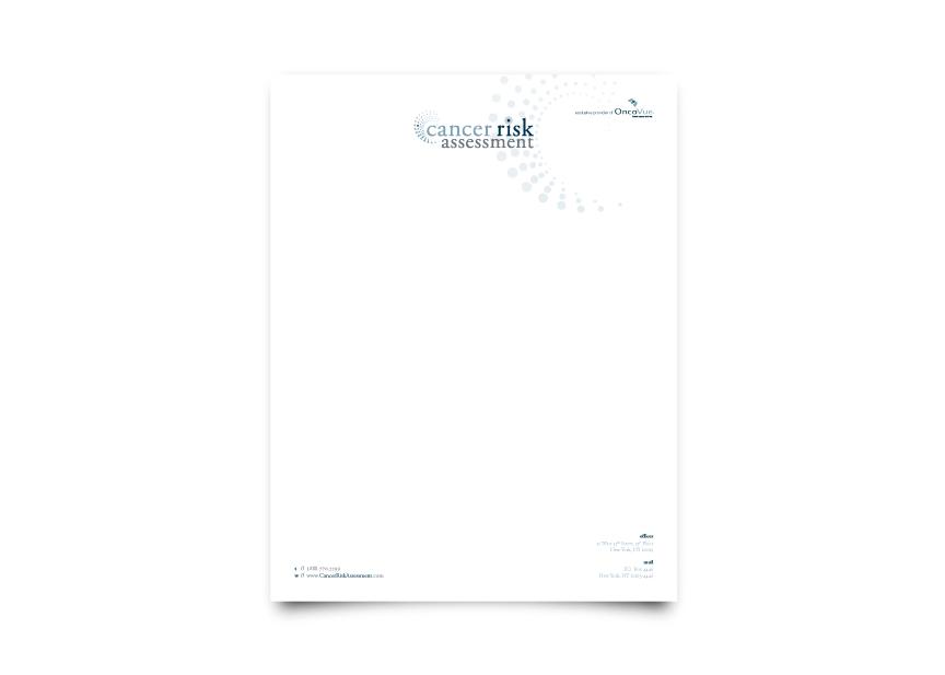 Cancer Risk Assessment Letterhead