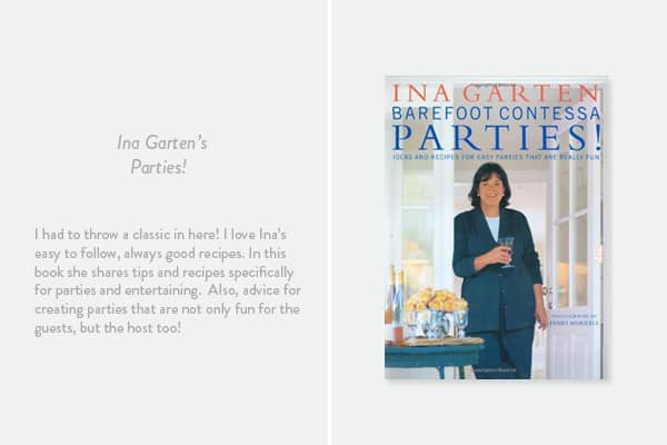 Parties, Barefoot Contessa