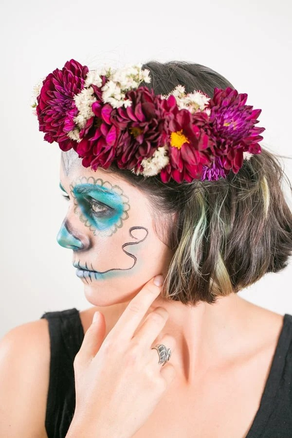 FloralHairCrownHalloween_6