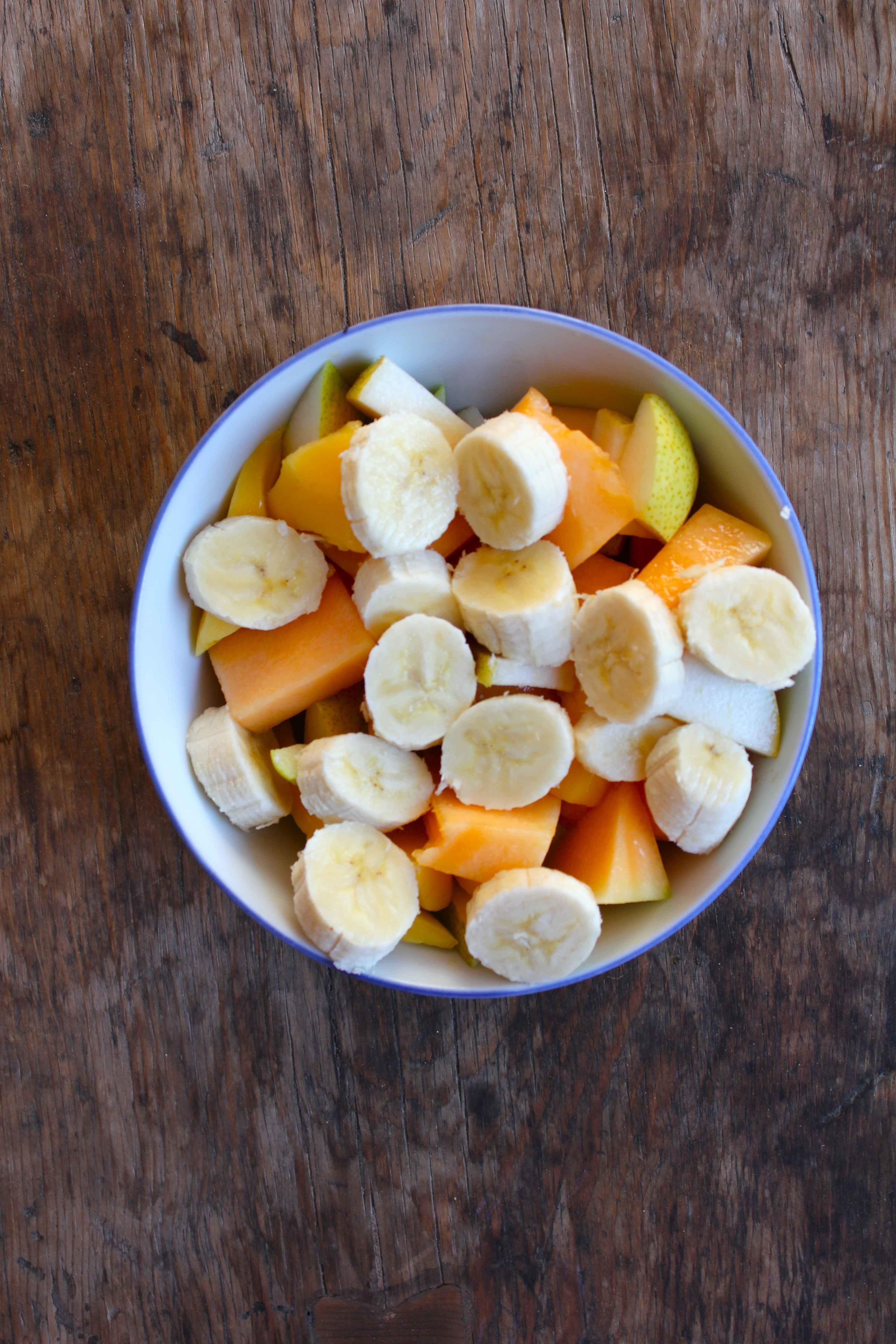 Fruit Salad Amp Honey Orange Syrup