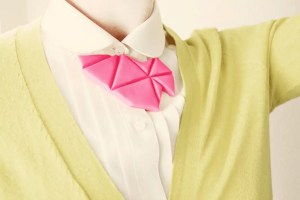 DIY geometric bib necklace #KollaboraAltSummit