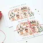 Our holiday postcards… Oh, and the giveaway winners!