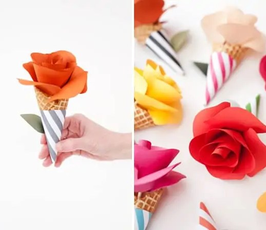 DIY Spring Flower Projects - Oh Happy Day - Sugar & Cloth Round Up - Inspiration