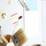 DIY Patterned Magnetic Board