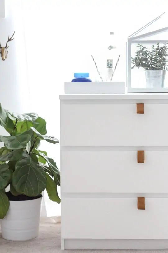 DIY Ikea hack dresser and prepping for guests - Sugar & Cloth - DIY