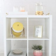 Ikea hack bar cart DIY - sugar and cloth