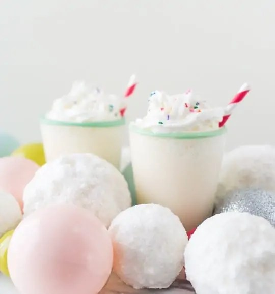 snowball float recipe   sugarandcloth.com