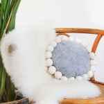 DIY Snowball Pillow