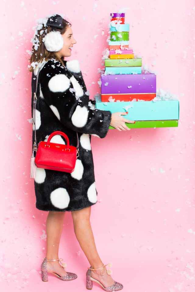 Give It A Twist: Gift Your DIY with Kate Spade! Christmas gifting with lifestyle blogger Ashley Rose of Sugar & Cloth