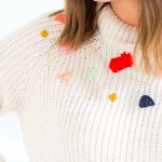 Twinning!: DIY Abstract Embroidered Sweater