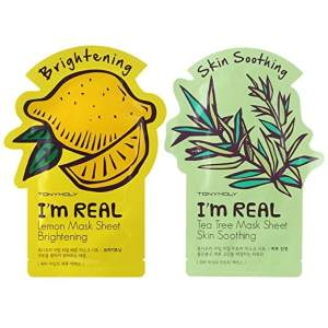 These I'm Real Sheet Masks are one of Sugar & Cloth's favorite beauty finds.