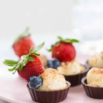 Chocolate Fruit Cheese Cup Recipe