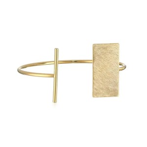 This Panacea Gold Scratch Cuff Bracelet is one of Sugar & Cloth's favorite style finds.