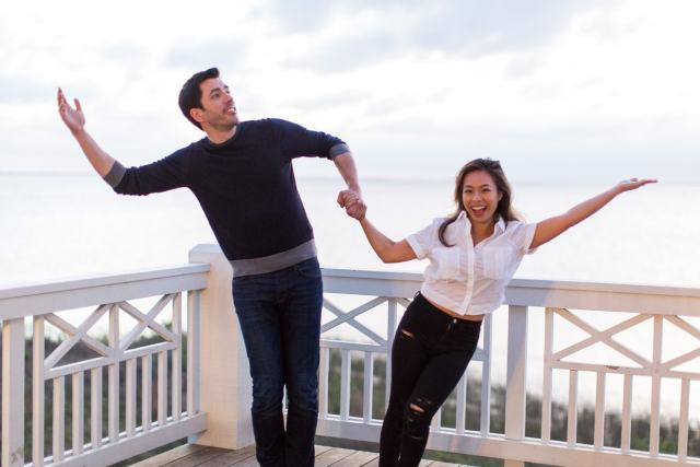 DIY Shadow Art with Drew Scott from Property Brothers (+video!) by top Houston lifestyle blogger Ashley Rose of Sugar and Cloth