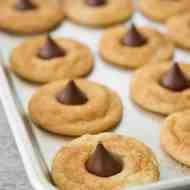 Snickerdoodle Kiss Cookies by Sugar & Cloth, an award winning DIY blog.