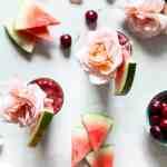 Cherry Watermelon Frosé