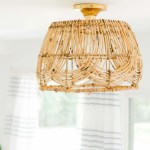 Diy Pendant Light How To Make A Basket Light Fixture Sugar Cloth