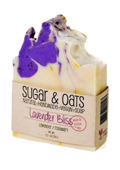 Sugar-and-Oats-Lavender-Bliss-Vegan-Sensitive-Soap-0863346000123