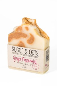 Ginger Peppermint Handmade Soap