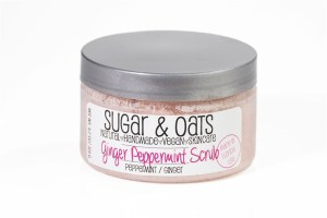 Peppermint Ginger Luxury Sugar Scrub