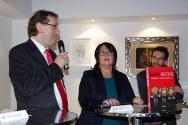 MQ-Direktor Dr. Ch. Strasser, Maria Schuster