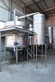 Rosenöl-Rosenwasser-Herstellung
