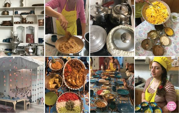 Persisch kochen – Maryams Cooking Class