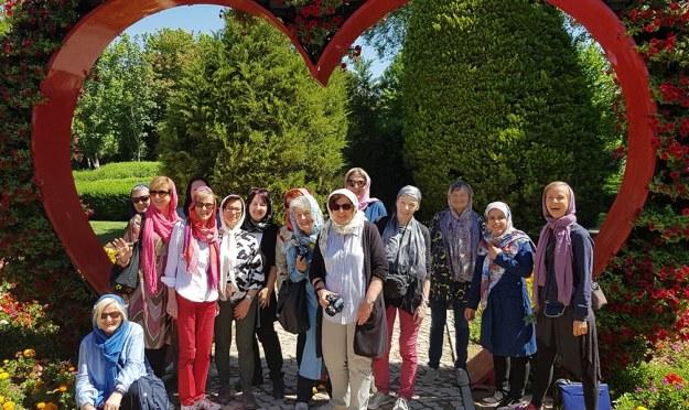 Botanisch Interessierte Reisegruppe