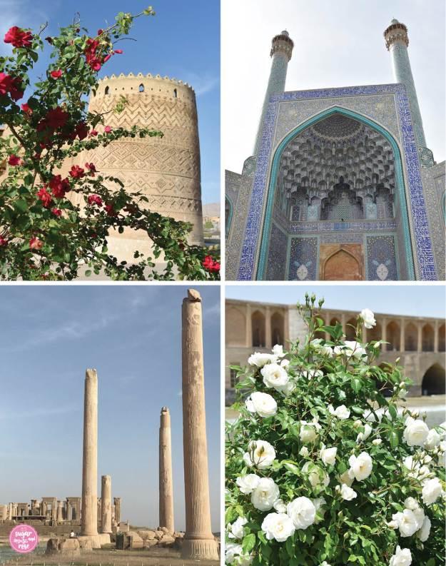 Persien-Highlights, Persien und Rosen