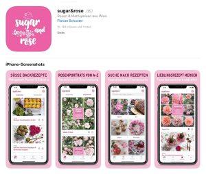 sugar&rose im Appstore