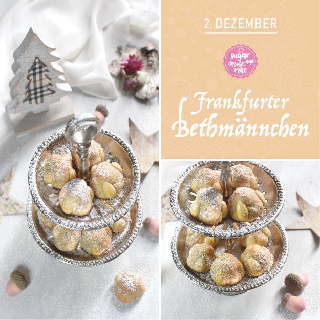 Kekserl-Adventskalender Türchen 2: Frankfurter Bethmännchen