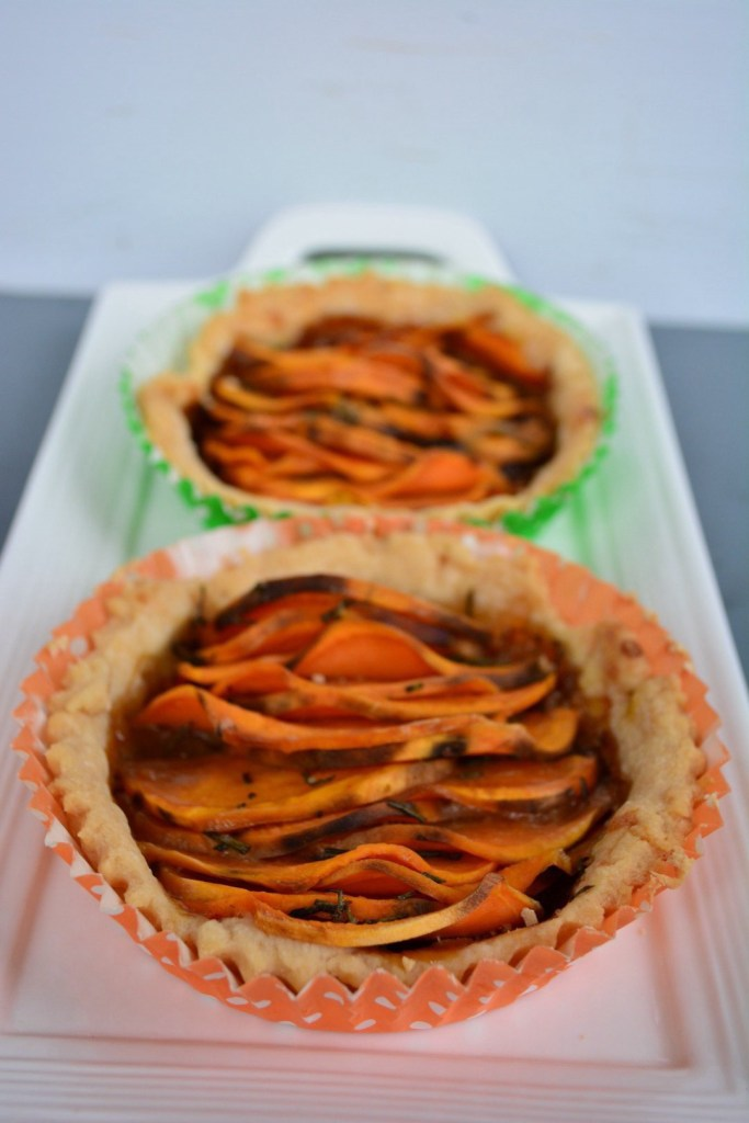 Savory Sweet Potato Tart