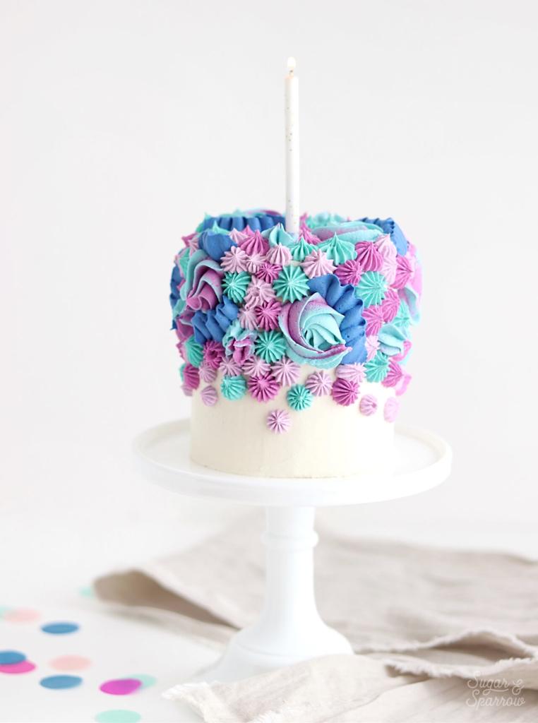 1st Birthday Smash Cake Recipe Decorating Ideas Sugar Sparrow