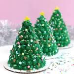 How To Make Mini Christmas Tree Cakes Sugar Sparrow