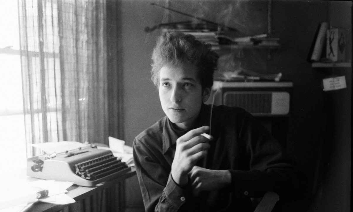 Bob Dylan: retratos de un joven músico