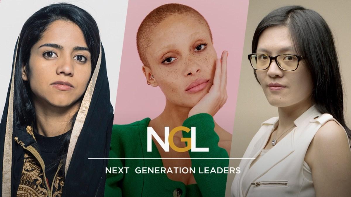 Ellas son las líderes de la próxima generación