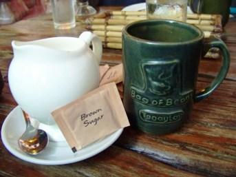 Kepeng barako in a big mug.