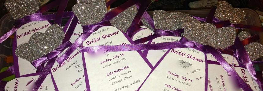 Bridal Shower Invites Pic 1