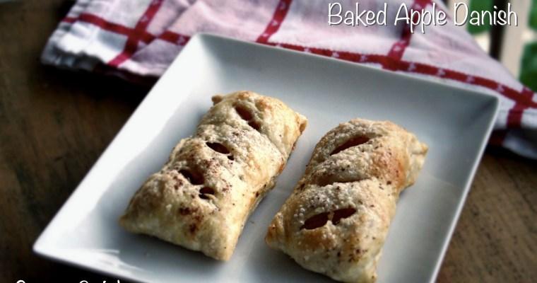 Baked Apple Danish