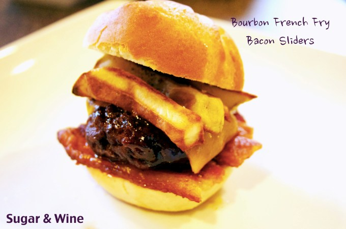 Bourbon Bacon Slider