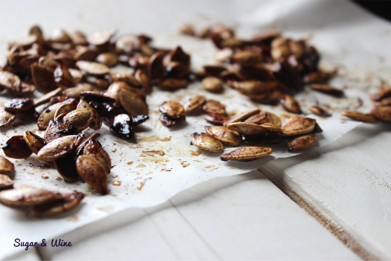 Brown Sugar Cinnamon Pumpkin Seeds