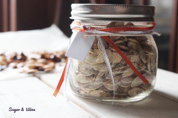 Salt and Pepper Pumpkin Seeds