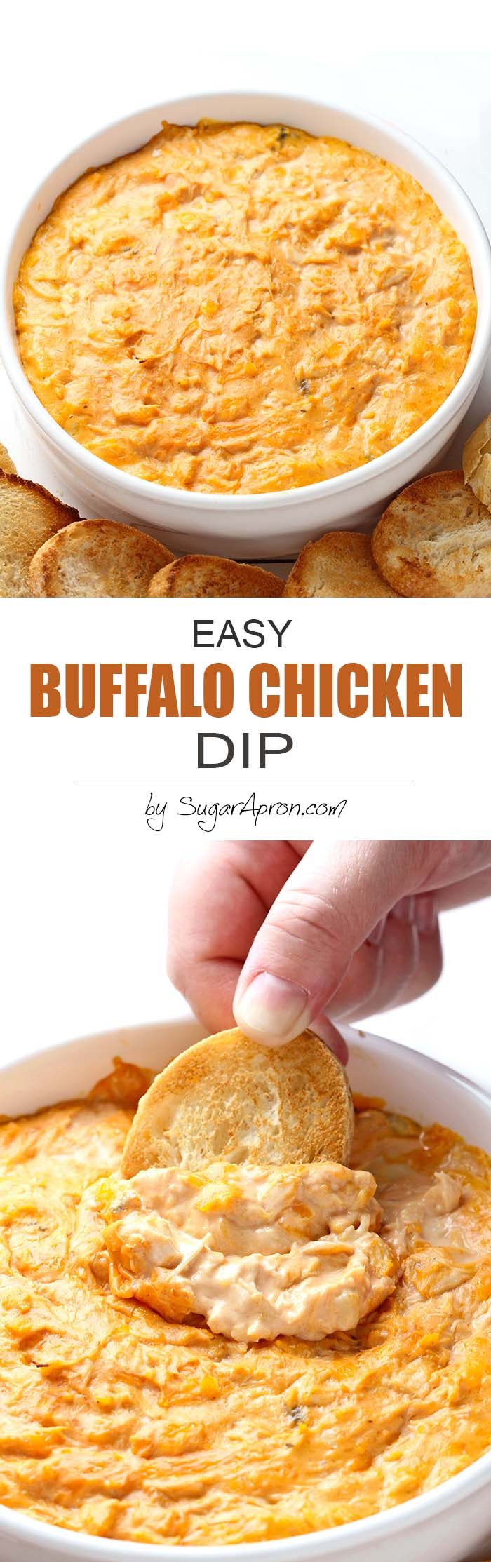 Buffalo Dip Chicken Easy