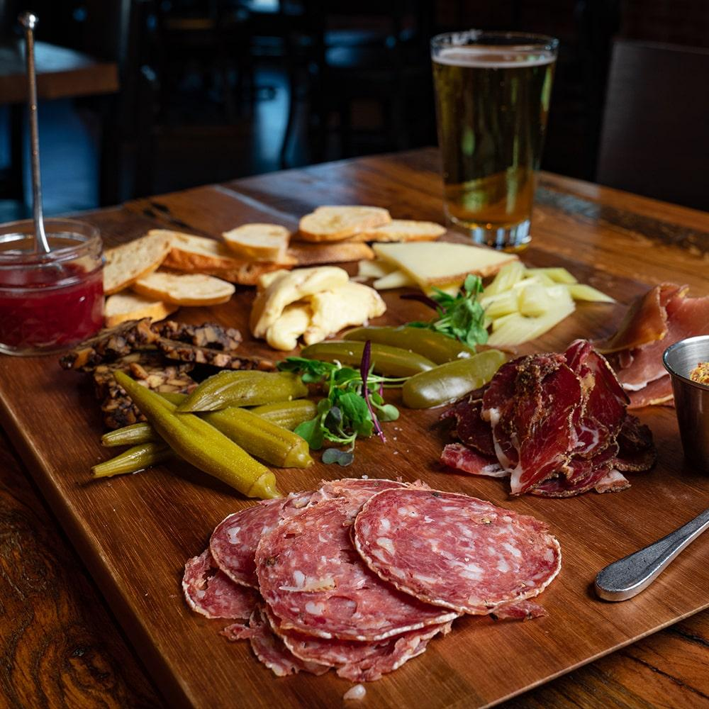 Ham Cheese Board
