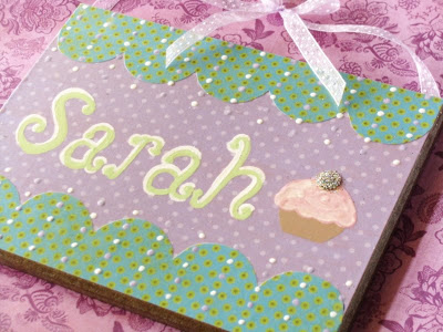Personalized Name Plaques and a Family Visit