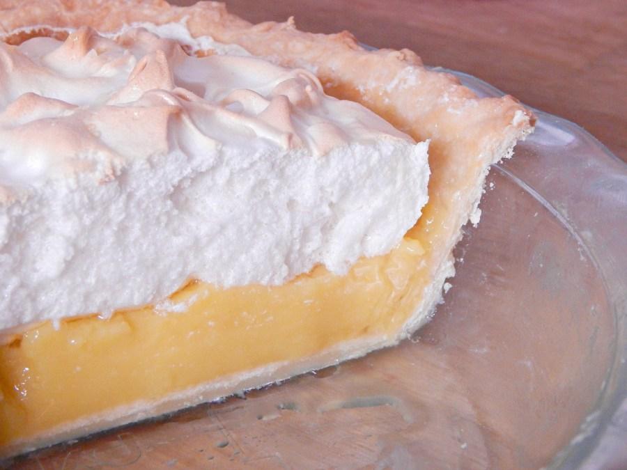 sliced lemon meringue pie on SugarBananas.com copy