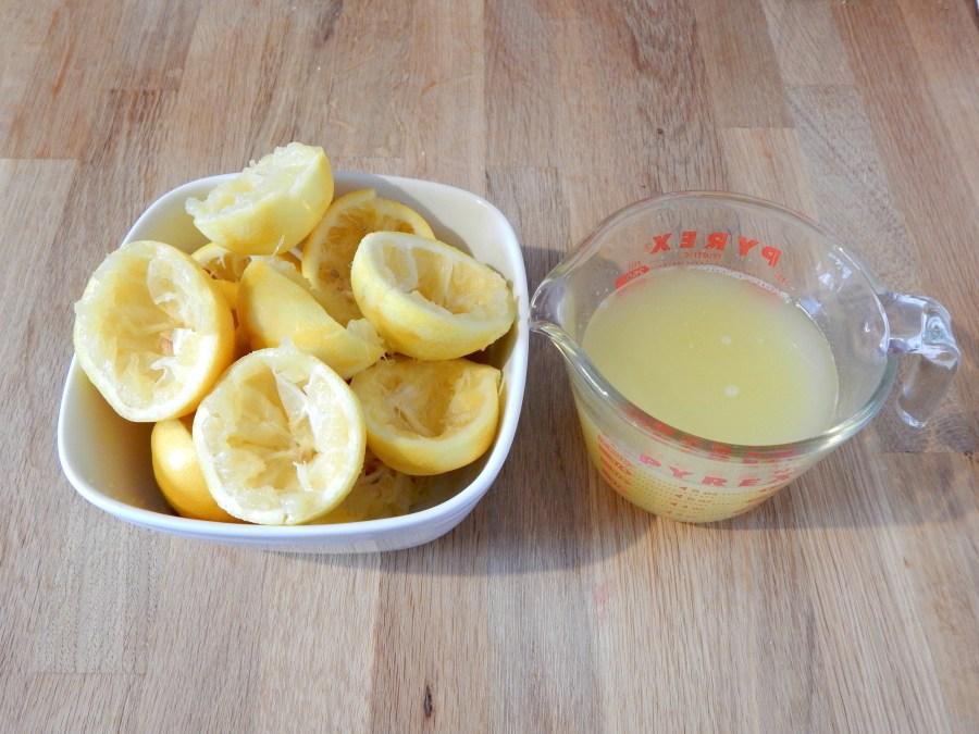 squeezed lemons for lemon meringue pie on SugarBananas.com copy